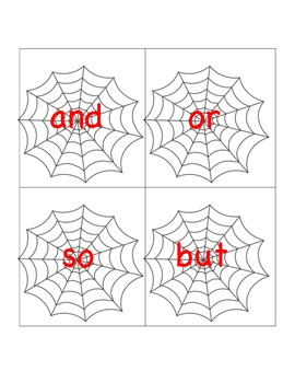 Spooky Cunjunctions! (CCSS ALIGNED)
