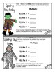 Basic Multiplication Facts : Spooky Day Relay - A fun way