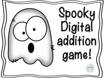 Spooky Digital Addition Game