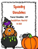 Spooky Doubles and Doubles Plus 1 (addition doubles to 20)