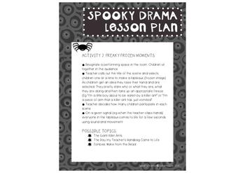 Spooky Drama Activities