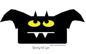Spooky Eyes Craft and Writing Templates