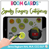 Spooky Fingers Categories BOOM Cards™️  for Distance Learn
