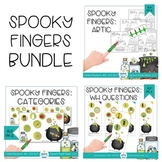 Spooky Fingers: Halloween Bundle for Speech and Language Therapy