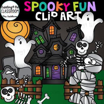 Spooky Fun Clip Art {Halloween Clip Art}