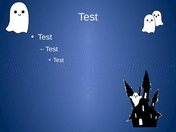Spooky Ghost Presentation