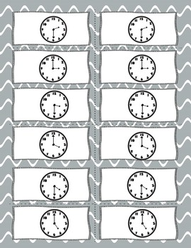 Spooky Ghost Time Game and Practice Activity