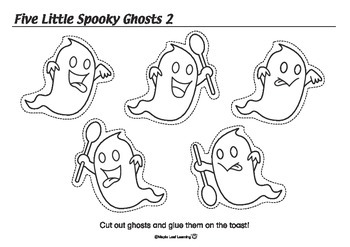 Spooky Ghosts Activity