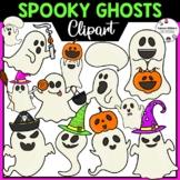Spooky Ghosts Clipart | Halloween