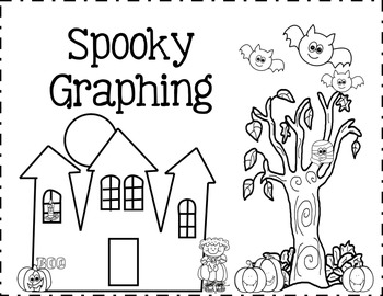 Spooky Graphing Cut and Paste (Common Core and CCSS)