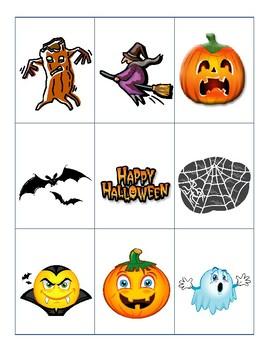 Spooky Halloween Bingo