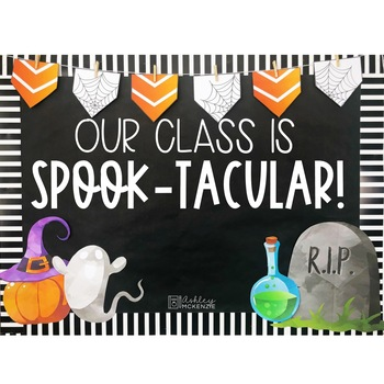 Halloween Bulletin Board or Door Kit -Spooky Theme