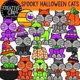 Spooky Halloween Cats {Creative Clips Clipart}