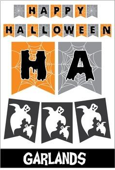 Halloween Decorations - Spooky Classroom Kit
