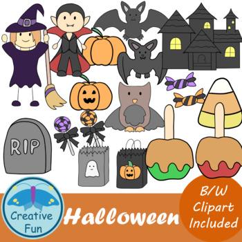 Spooky Halloween Clip Art