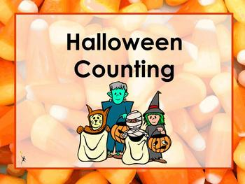 Spooky Halloween Counting
