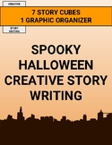 Spooky Halloween Creative Story Writing Activity