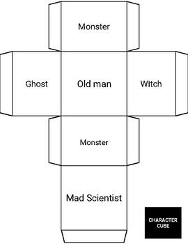 Spooky Halloween Creative Story Writing Activity