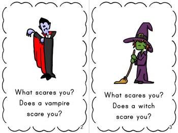 Spooky Halloween Emergent Readers (3 books targeting /s/ blends)