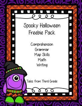 Spooky Halloween Freebie Pack