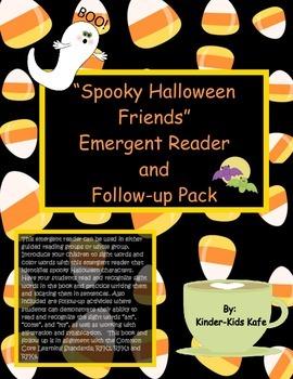 Spooky Halloween Friends Emergent Reader