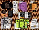 Spooky Halloween Literacy Centers