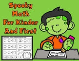 Spooky Halloween Math for Kinder and First Grade