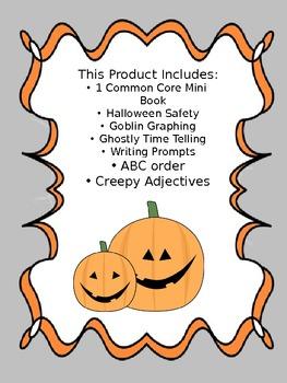 Spooky Halloween Mini Unit: Second Grade Common Core Aligned