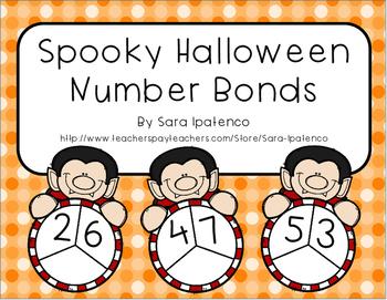 Spooky Halloween Number Bonds