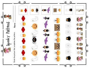 Halloween Math: Spooky Patterns
