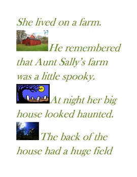 Halloween Spooky Pumpkin Story