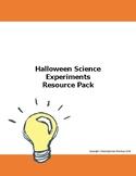Spooky Halloween Science Resource Pack