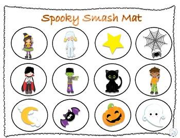 Spooky Halloween Smash Mat