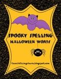 Spooky Halloween Spelling Unit