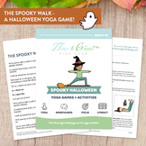 Spooky Halloween - Yoga Games & Activities