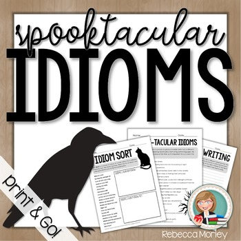 Spooky Idiom Activities