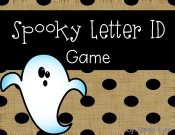 Spooky Letter ID Game