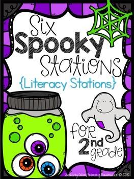 Spooky Literacy Stations