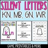 Silent Letters KN, WR, GN, MB Center, Game & Printables