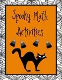 Spooky Math Activities