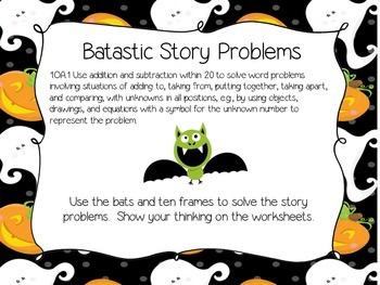 Spooky Math Centers
