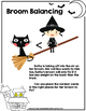 Halloween Math Activity-Spooky Math Inequalities- Broom Ba