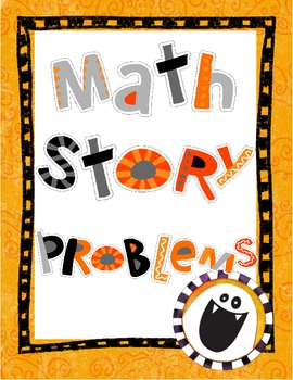 Fall Math Story Problems