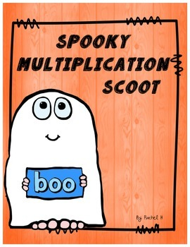 Spooky Multiplication Scoot