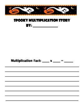 Spooky Multiplication Story