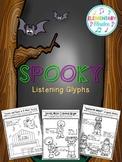 Spooky Music Listening Glyphs