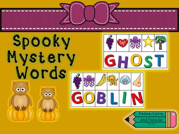 Spooky Mystery Words
