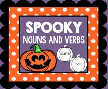 Spooky Noun and Verbs