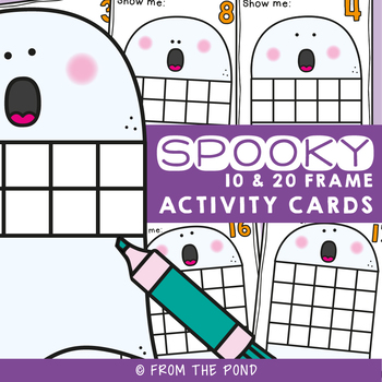 Spooky Number Activity Cards