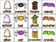 Spooky Parts of Speech Activities and Printables